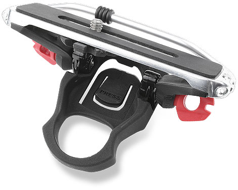 Top view of the Camera Carrier for Helmets