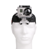 Head Mount with GoPro® Camera attached