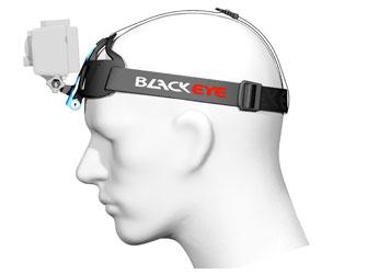 Kamera Kopf Halterung mit befestigter GoPro Kamera