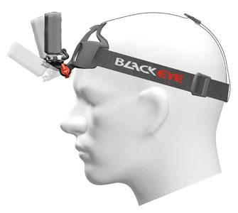 Seitenansicht der der Kamera Halterung für den Kopf