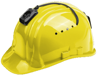 Schuberth Hardhat Helmet with Camera Adapter