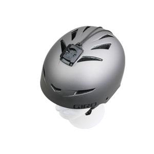 Giro Helm mit Kamera Adapter