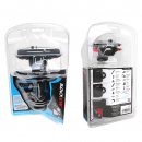 Front and rear view of the Helmet Mount Packaging
