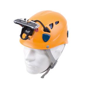 Petzl Helmet with Camera Pod and Tripod Screw