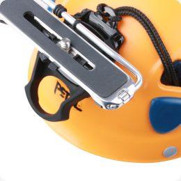 Kamera Helmhalterung befestigt am Helm