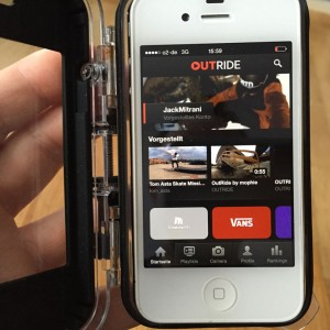 Outride app for iphone
