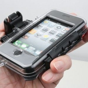 Outride for iphone open back case