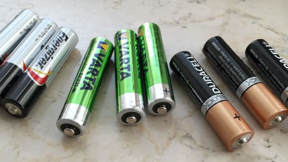 Energizer Varta and Duracell Batteries