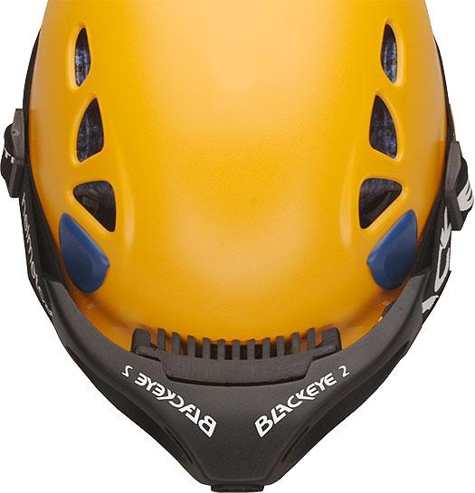 Petzl Helm mit Blackeye Two Kopf und Helm Kamera