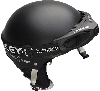 Protec Helmet with Blackeye Two Camera
