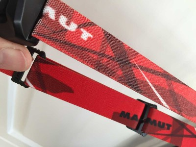 Printed T-Line headband stretched