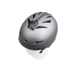 Giro Helmet with Camera Adaptor