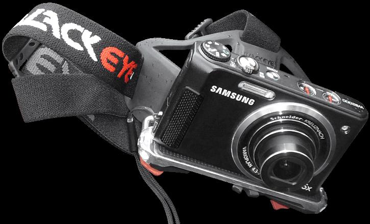 Samsung Kamera auf der Kopf Halterung
