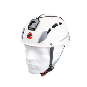 Mammut Skywalker Helm mit Adapter für Digital Kamera