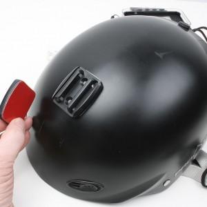 Outride helmet mount