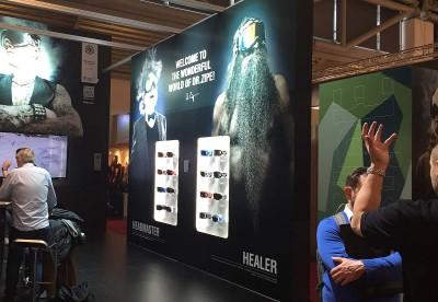 Healer Brand Fair Booth