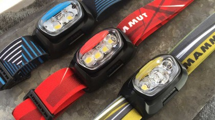 T-Peak, T-Trail, T-Base headlamp arrangement
