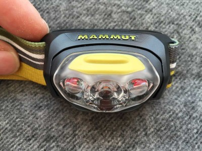 Front view T-Peak headlamp