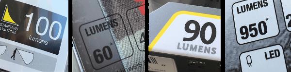 Anzahl derLumen aufgedruckt auf die Verpackung
